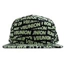 5P SNAP BACK CAP 7UNION GLOW IN THE DARK (BLACK)