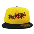 5T SNAP BACK CAP ROKERS COLLABO (YEL/BLK)
