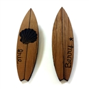 WOOD SURF BOARD PIEARCED (BROWN)
