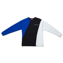TRI COLOR CREW NECK (BLACK)