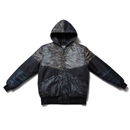 CRAZY PATTERN FLIGHT JACKET (CAMO)