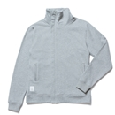 HI COLLAR ZIP UP SWEAT (GRAY)