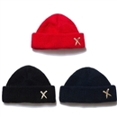 CROSS KNIFE SHORT BEANIE