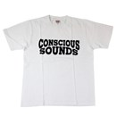 FORCE CONSCIOUS SOUNDS TEE (WHITE)